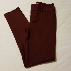 Michael Kors Burgundy Pants